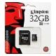 Carte microSDHC 32 Go Classe 10 avec adaptateur
