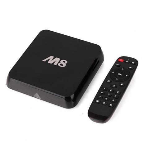 Box Android TV M8 Amlogic S802