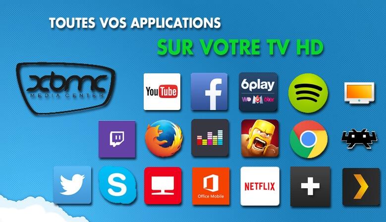 Toutes les applications sur votre TV HD grace aux dongle TV, mini PC et box Android Droid-TV.fr